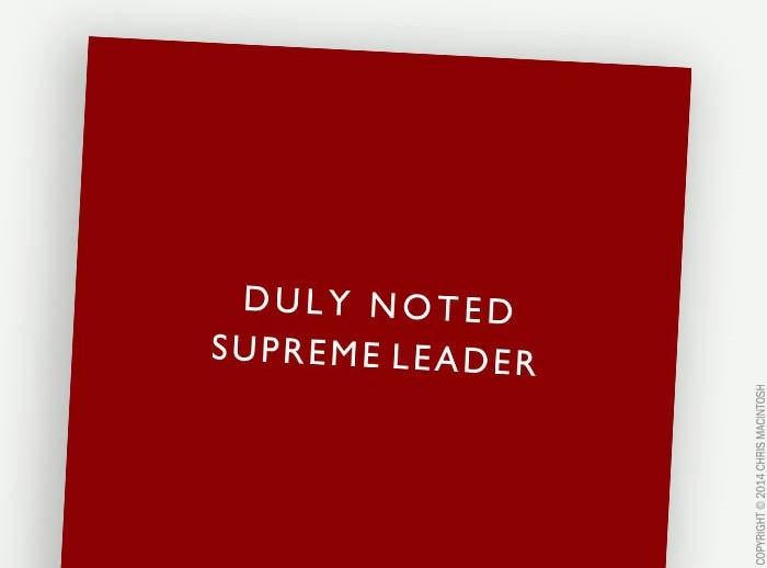 1 leader